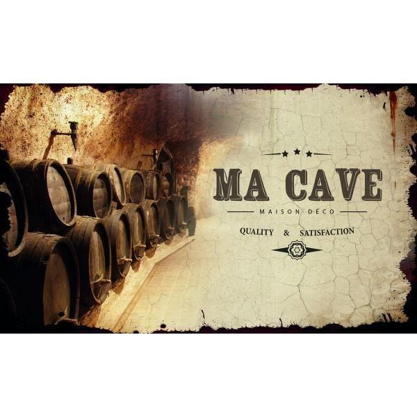 Plaque de porte ma cave class d co achat vente plaque de porte soldes d s le 10 janvier - Porte de cave ...