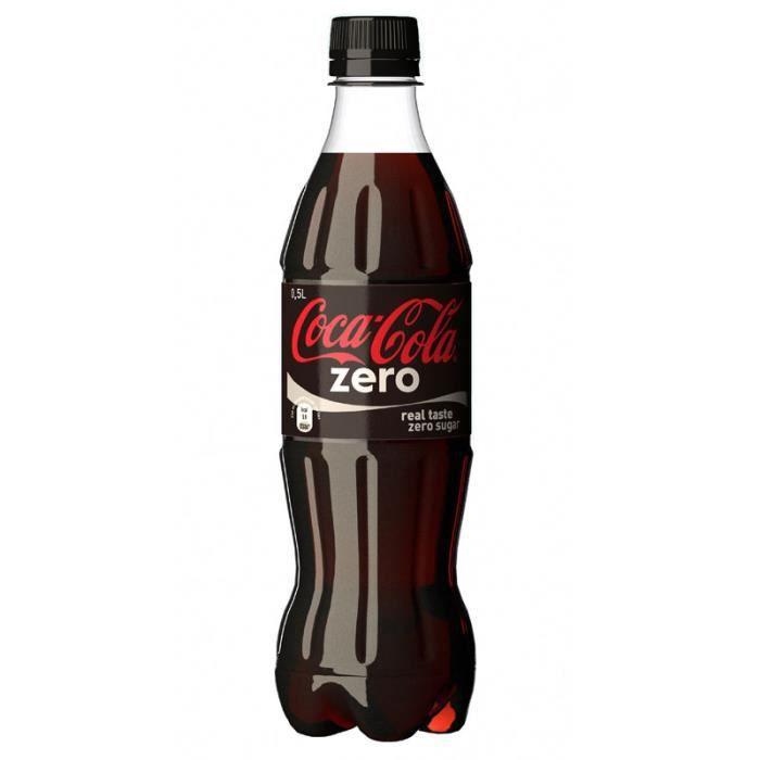 coca cola zero 50cl pack de 24 achat vente soda th glac coca cola zero 50cl pack de. Black Bedroom Furniture Sets. Home Design Ideas