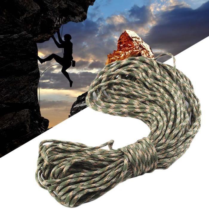 CASQUE ALPINISME 101FT Corde sauvetage statique Escalade roche Cord