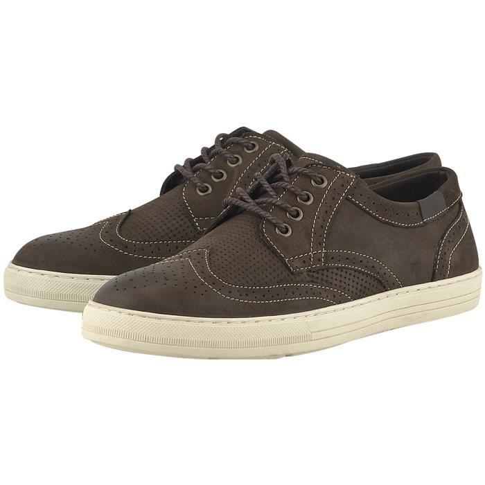 Belvor Sneakers gris Homme puaAFBnEw