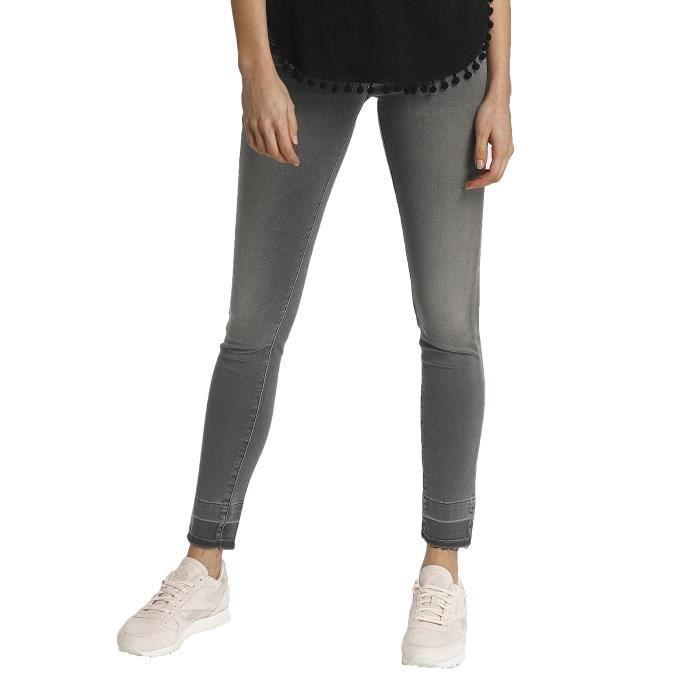 d946dcae1e9f6 Kaporal Femme Jeans    Jean skinny LOLA Gris Gris - Achat   Vente ...