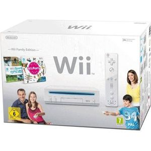 CONSOLE WII PACK Wii FAMILY EDITION