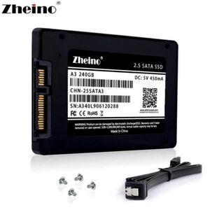 DISQUE DUR SSD Zheino 240 Go SSD A3 2,5 pouces Sata III 3D Nand S