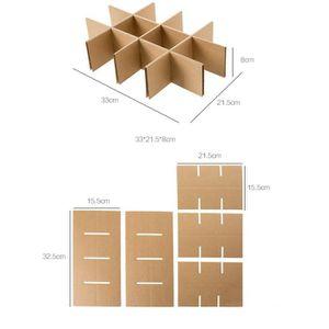 BOITE DE RANGEMENT Papier Kraft Load style de stockage de la boîte de