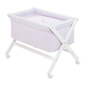 lit bb cambrass petit lit pieds x bois une cami rose 46 x - Petit Lit Bebe