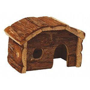 ACCESSOIRE ABRI ANIMAL Croci Maison En Bois Pour Petits Animaux 20x11x14