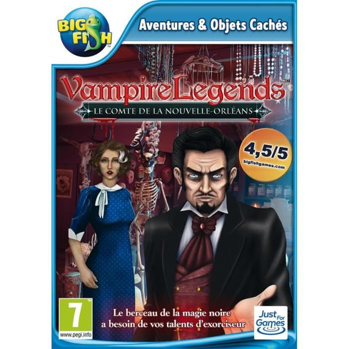Vampire Legends - Le Comte de la Nouvelle-Orléans Jeu PC