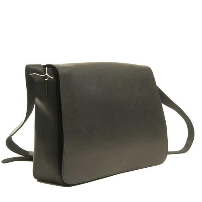 e2f01468dd Besace homme Arthur&Aston Noir Noir - Achat / Vente besace - sac ...