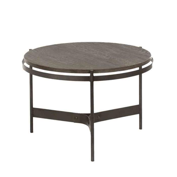 TABLE DE SALON ARTHUR PM BLANC D\'IVOIRE - Achat / Vente table basse ...