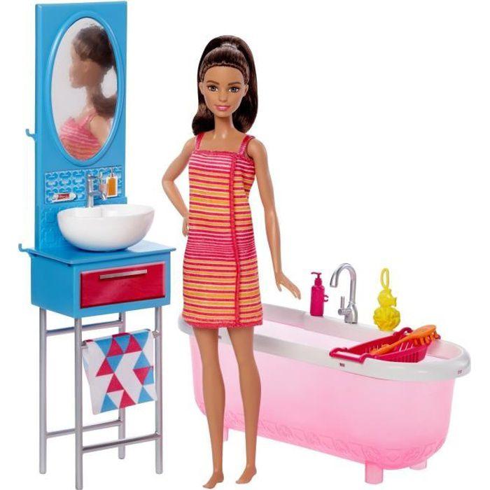 Salle de bain barbie - Achat / Vente jeux et jouets pas chers