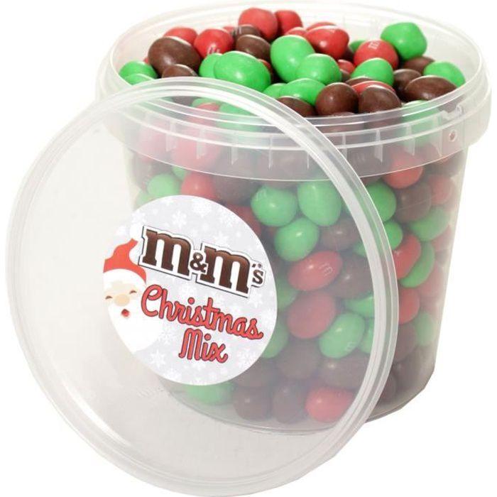 CONFISERIE DE SUCRE Mm's - M&M's Box Christmas Mix Brown Édition Noël
