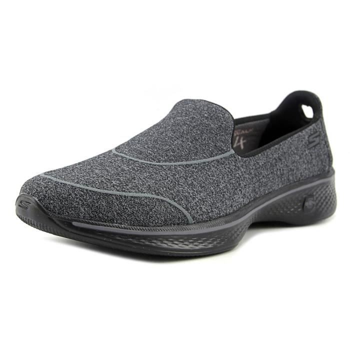 Chaussure De Sock Marche Skechers 4 Super Toile OkPnw80X