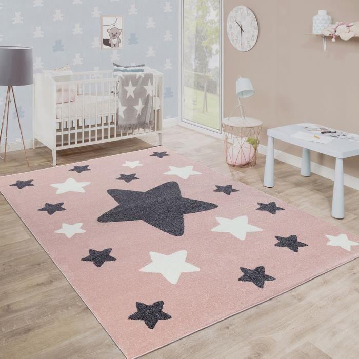 Tapis etoile chambre enfant - Achat / Vente pas cher