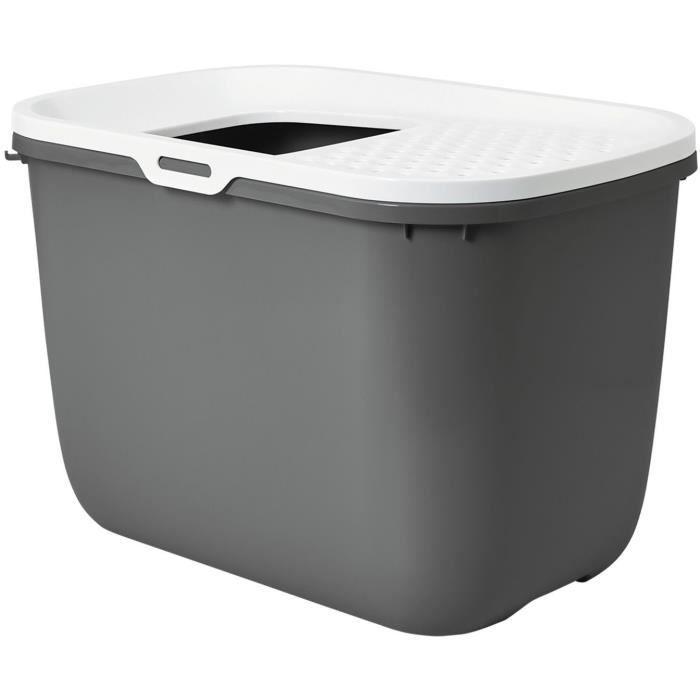 BAC À LITIÈRE SAVIC Maison de toilette Hop In - 58x39x40cm - Ant