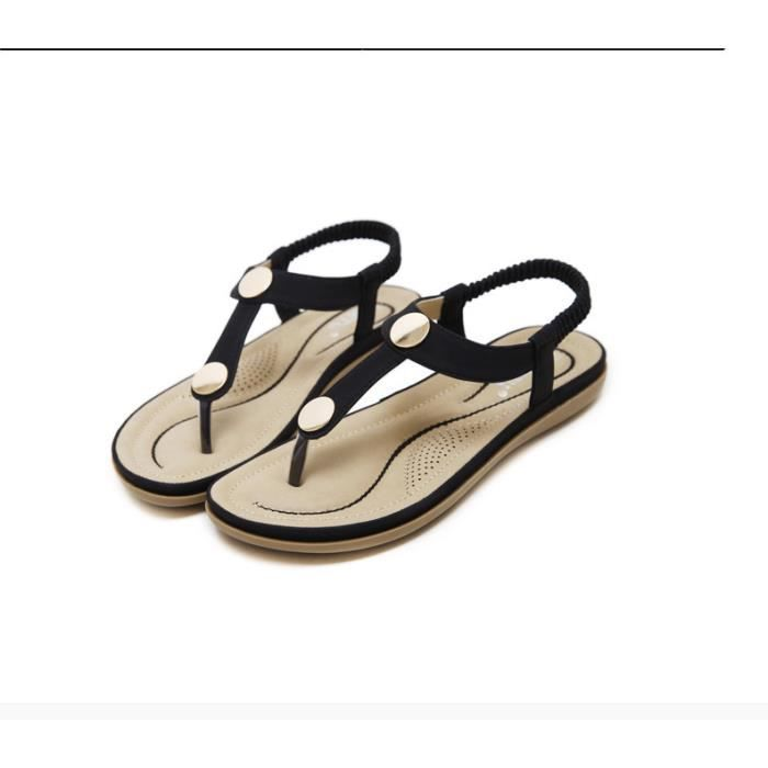 Sandales Chaussures Plage Femme Luxe Simple