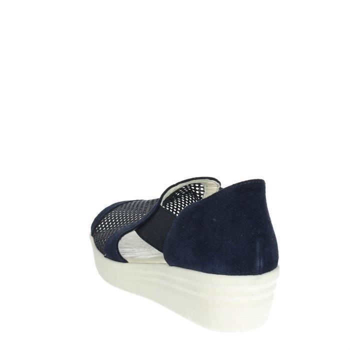 Cinzia Soft Open Toe Chaussures Femme Bleu, 35