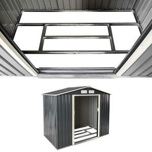 abri de jardin gris achat vente abri de jardin gris pas cher soldes d s le 10 janvier. Black Bedroom Furniture Sets. Home Design Ideas