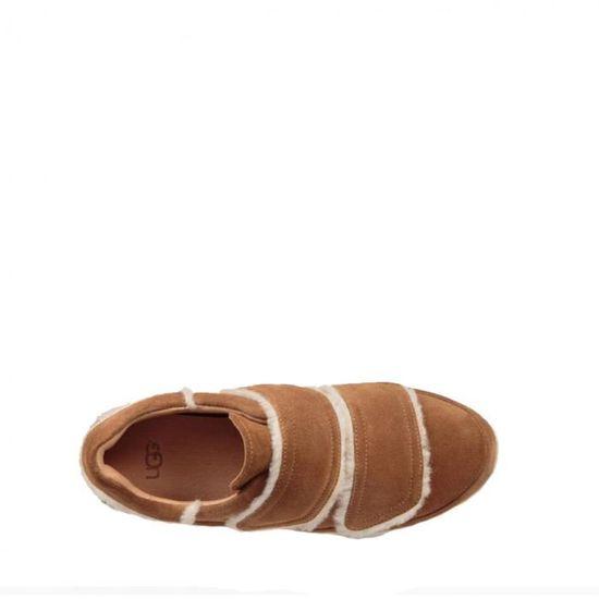 Basket Ugg Asbhy Spill Seam - Ref. ASHBY--CHESTNUT Beige Beige - Achat    Vente basket - Cdiscount 740945d191e