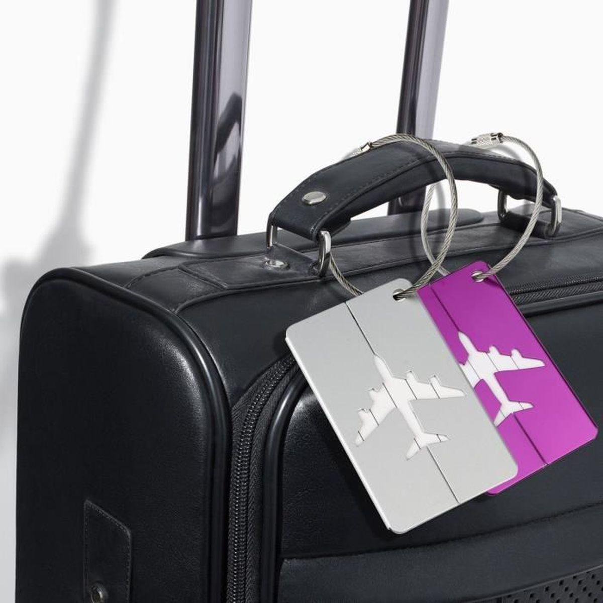 d43e0cbe8a Étiquette classement MKISHINE® Bagages Étiquettes,7 couleurs aluminium