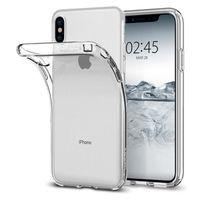 HOUSSE - ÉTUI Coque iPhone X Silicone,Coque Transparente Silicon