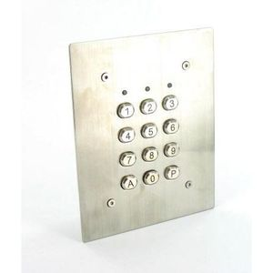 INTERPHONE - VISIOPHONE Clavier à code SU2EI encastré en acier