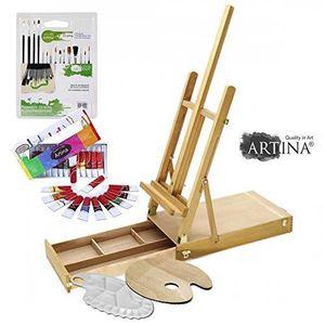 KIT PEINTURE Artina kit d'initiation  peinture à l'huile - Pour