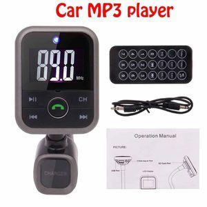 TRANSMETTEUR FM Universel Noir émetteur Bluetooth FM kit voiture l