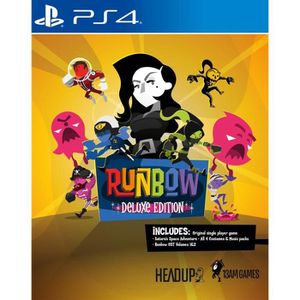 JEU PS4 Runbow: Deluxe Edition Jeu PS4