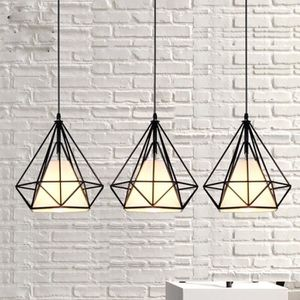 LUSTRE ET SUSPENSION Moderne éclairage de plafond Creative Fer Forgé Lu