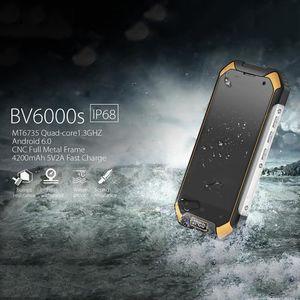 Téléphone portable Smartphone Blackview BV6000S 2G+16G 4G Téléphone I