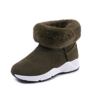 BOTTE Bottes femmes,Loisirs, chaud, bottes d'hiver, épai