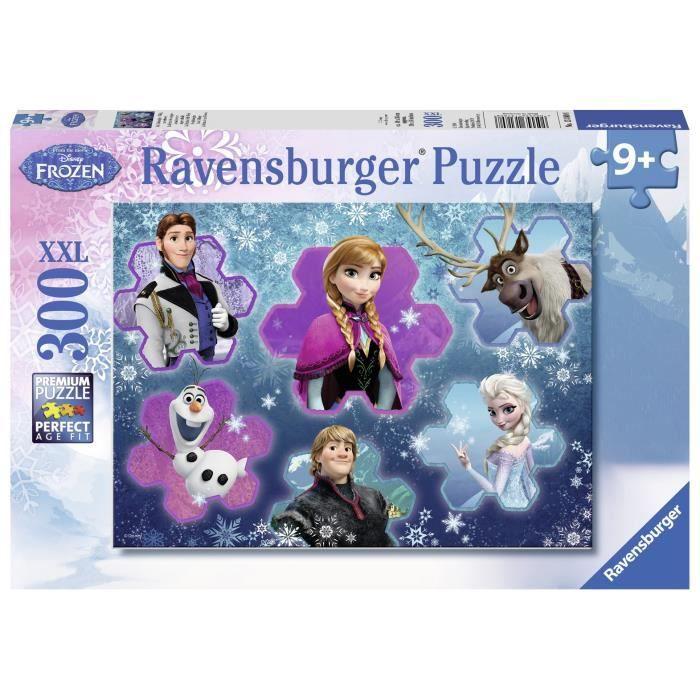LA REINE DES NEIGES Puzzle Audacieux 300 pcs - Disney