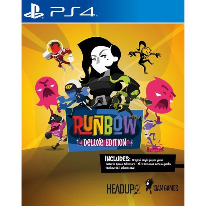 Runbow: Deluxe Edition Jeu PS4