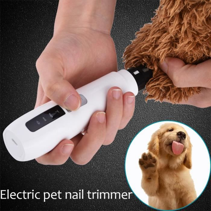 lectrique Chien Chat Cat Toe Griffe Nail Grooming Outil Tondeuse Grinder Clipper
