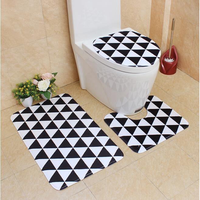 Ensemble Tapis Salle De Bain Contour Wc Stunning Tapis Contour Wc - Ensemble tapis salle de bain contour wc
