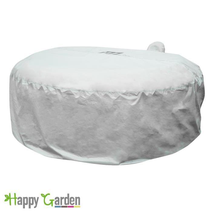 housse de protection pour spa gonflable mspa rond 6 places achat vente couverture bache. Black Bedroom Furniture Sets. Home Design Ideas