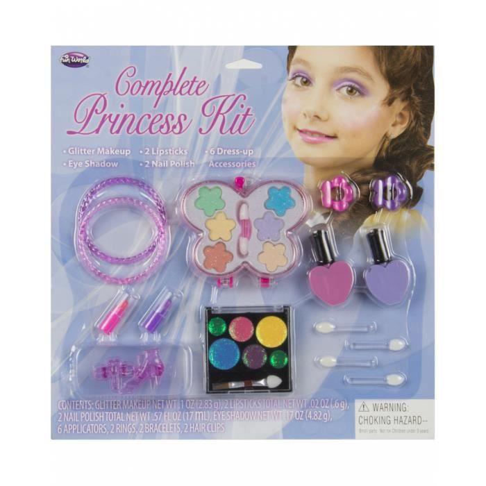 Princesse Maquillage Enfants Set 10 Pcs Achat Vente Maquillage
