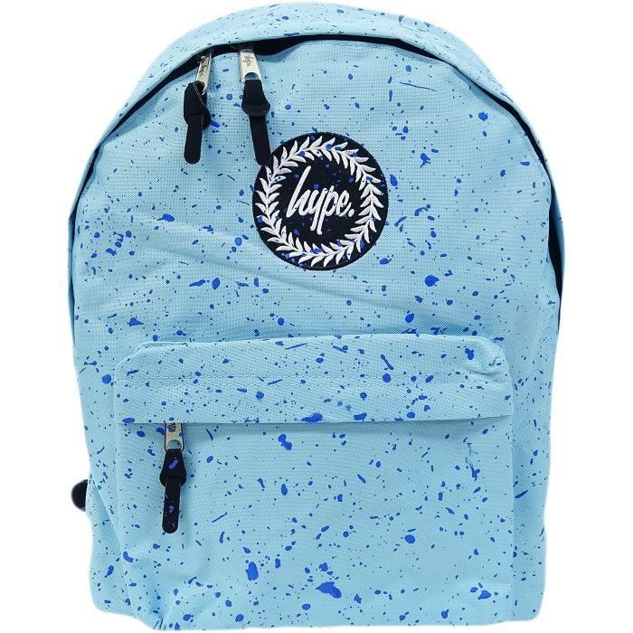 Hype ciel bleu - bleu marine garçons - filles sac à dos, sac d'école sac à dos - Splatter