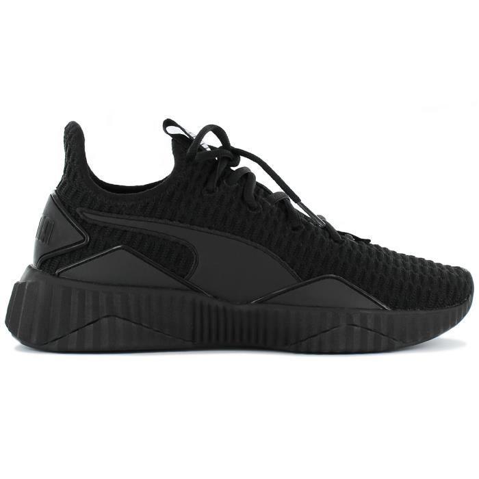 Noir Femmes Sneakers Baskets 10 Defy Wns Puma Chaussures 190949 sxdChQtr