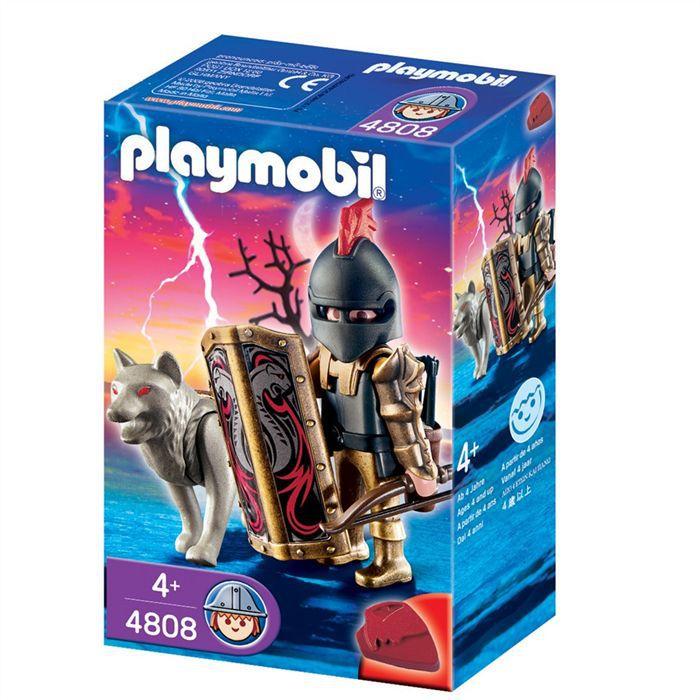 Avec Playmobil Arc Loups Flèches Achat Vente Et Chevalier Des deoxrCWB
