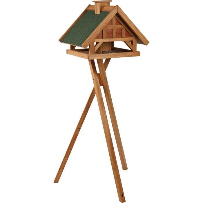 charming maison oiseaux sur pied 10 nichoir nid natura mangeoire oiseaux avec pied 54 40. Black Bedroom Furniture Sets. Home Design Ideas
