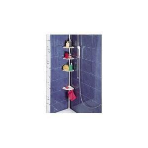 L 39 tag re d 39 angle t lescopique pour douche ou b achat - Etagere d angle telescopique douche ...