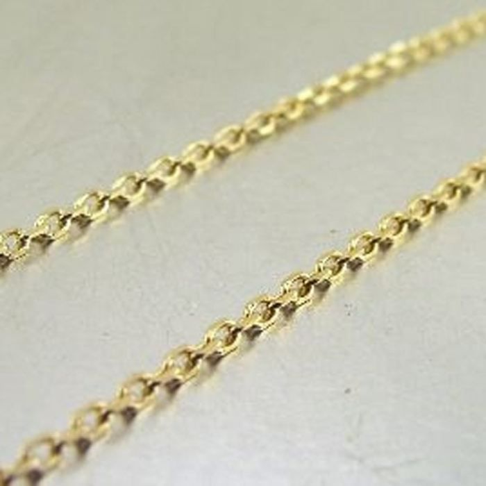 Chaine Plaqué Or Forçat 50 cm 1. 6 mm