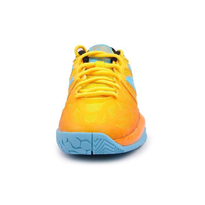 BASKET TENNIS NEW BALANCE WC996GSA JAUNE ORANGE CYBER YELLOW 40