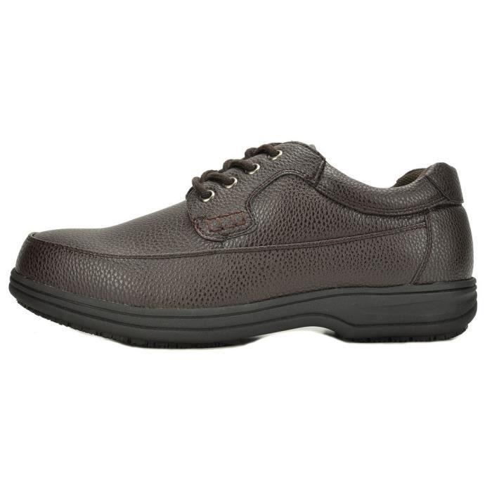 Shack huile Oxfords résistant restaurant Chaussures de travail YR4RU Taille-44