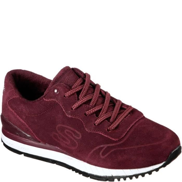 Skechers Sunlite Suedesociety Chaussures Mode Bourgogne B (m) nous H7HI4 Taille-38 1-2 fFhK8Hil