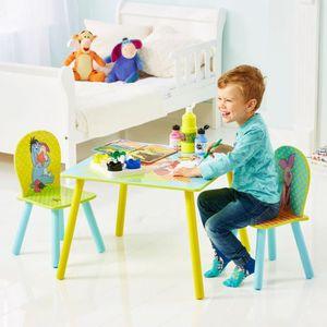 table et chaise disney achat vente table et chaise disney pas cher soldes d s le 10. Black Bedroom Furniture Sets. Home Design Ideas