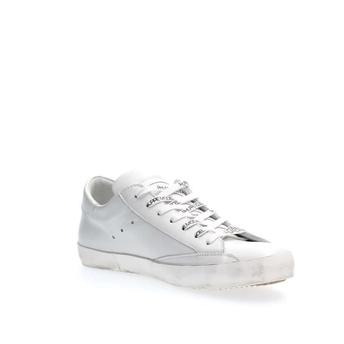 MODEL PHILIPPE Homme MODEL PHILIPPE SNEAKERS WHITE PARIS 44 PqqvgwHFn