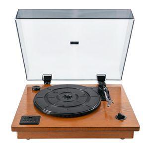 PLATINE VINYLE Bennett & Ross Vinylmaster tourne-disques avec USB