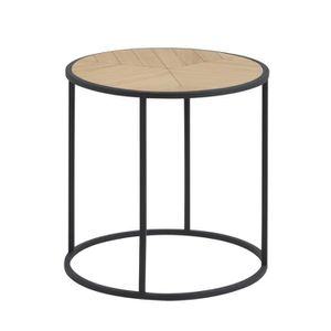 TABLE BASSE Table basse / Table d'appoint - BONOR - 45 cm - bo